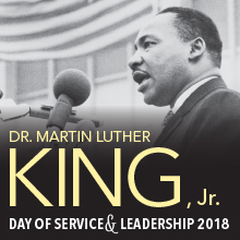 MLK day of service 2017 image
