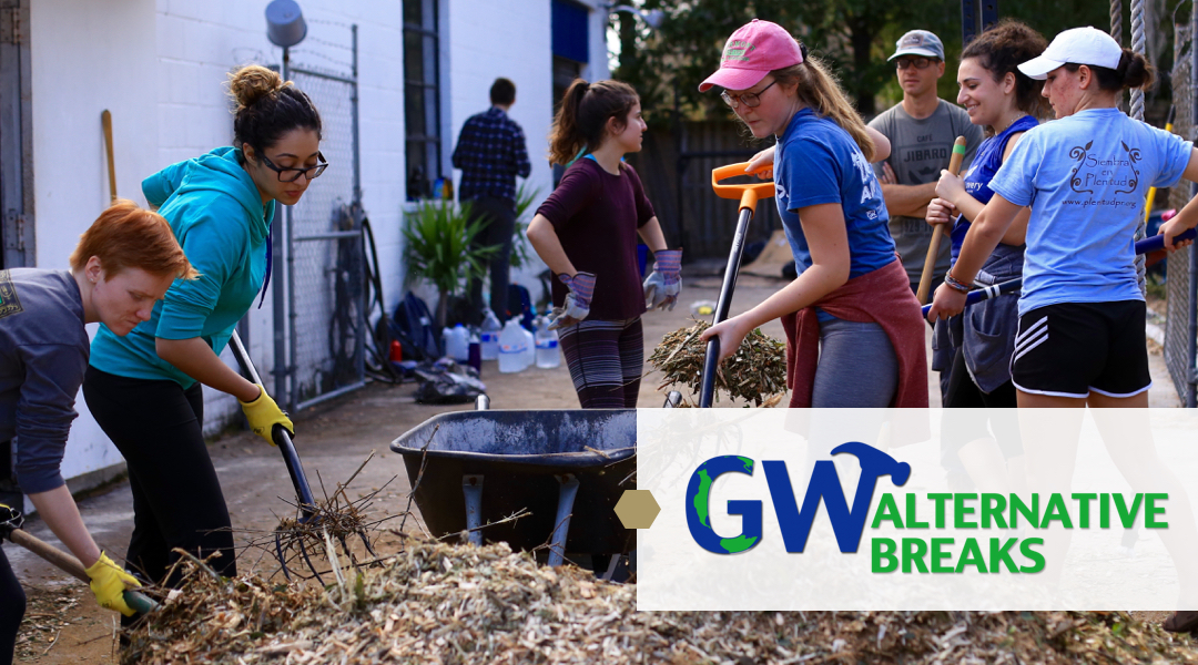 George Washington University Spring Break 2020.Gw Alternative Breaks Gw Center For Civic Engagement And